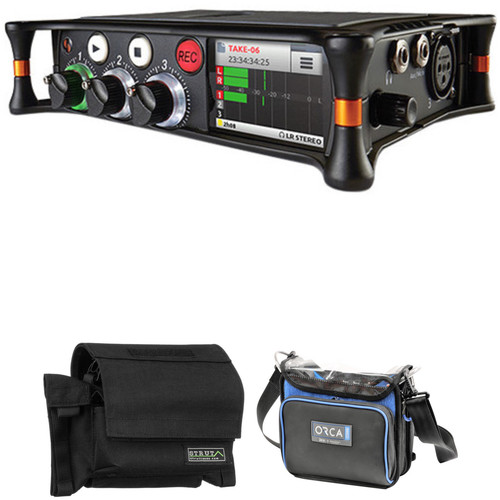 Sound Devices MixPre-3 Audio Recorder/Mixer with Field Case and Sound Bag Kit