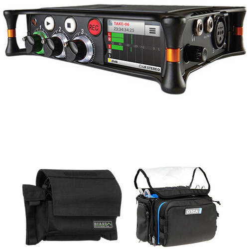 Sound Devices MixPre-3 Audio Recorder/Mixer with Field Case and Mini Audio Bag Kit