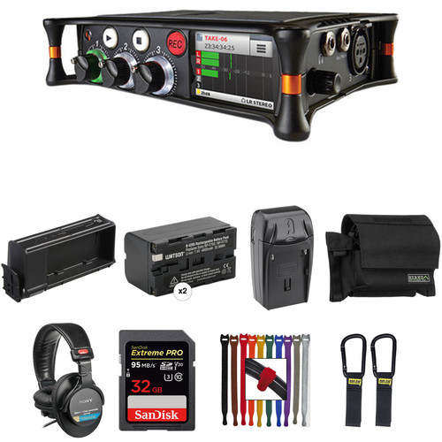 Sound Devices MixPre-3 Essentials Kit with Case, Li-ion Battery, Sled, and More