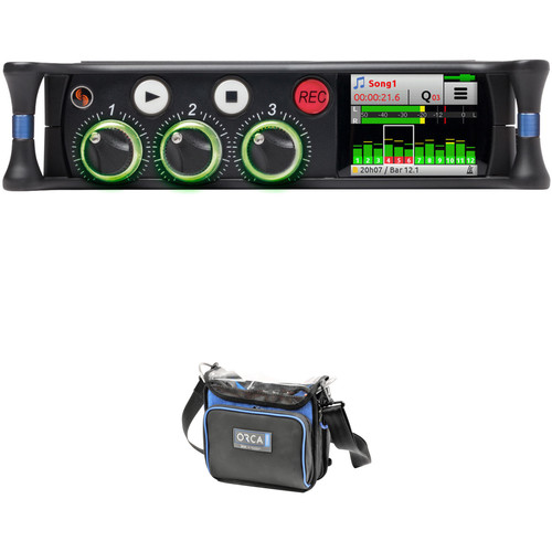 Sound Devices MixPre-3M Audio Recorder/Mixer Interface for Musicians with Sound Bag Kit