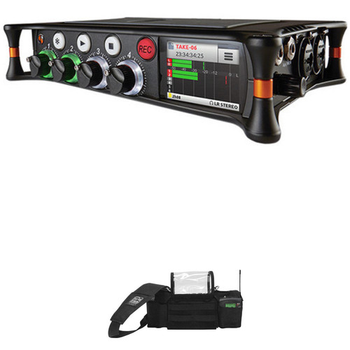 Sound Devices MixPre-6 Audio Recorder and Porta Brace Carrying Case Kit