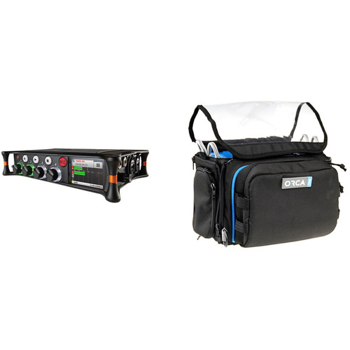 Sound Devices MixPre-6 Audio Recorder Kit with Orca OR-28 Mini Sound Bag