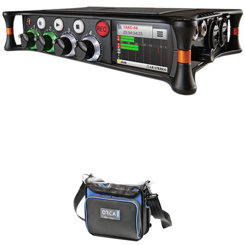 Sound Devices MixPre-6 Audio Recorder/Mixer and USB Interface with OR-270 Sound Bag Kit