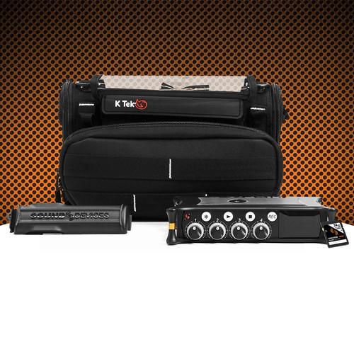 Sound Devices MixPre-6/KT-MixPro Bundle with K-Tek Stingray Bag & 32GB SD Card