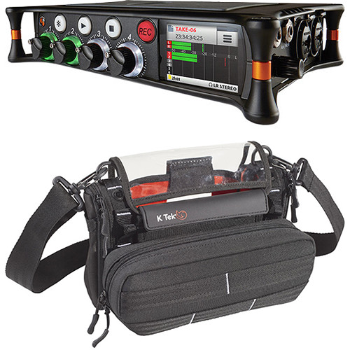 Sound Devices MixPre-6 Multi-Track Field Recorder and Audio Bag Kit