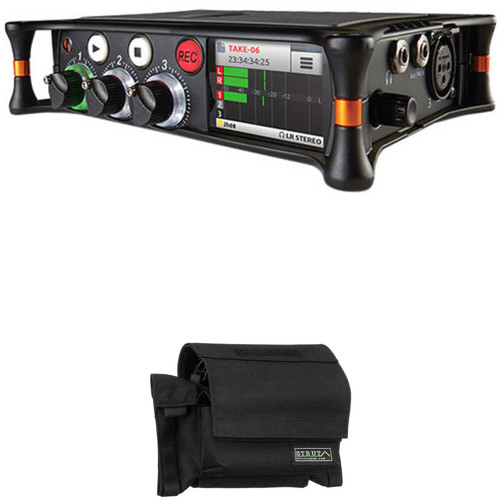 Sound Devices MixPre-3 Audio Recorder/Mixer Kit with Strut Custom-Fit Field Case