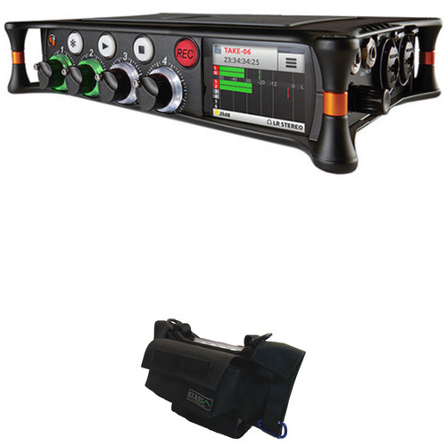 Sound Devices Sound Devices MixPre-6 Audio Recorder/Mixer Kit with Strut Custom-Fit Field Case