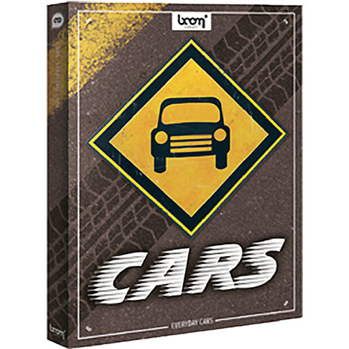Sound Ideas Everyday Cars Sound Effects Library (DVD)