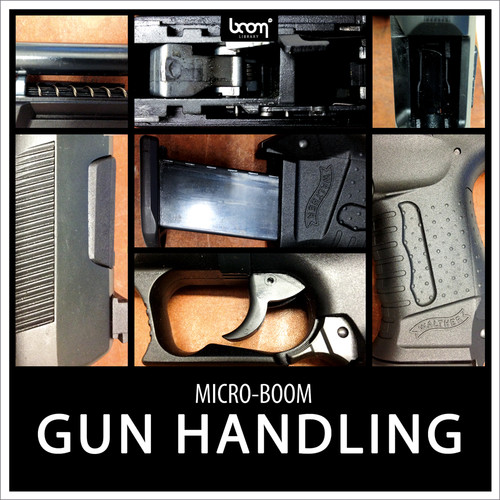 Sound Ideas Gun Handling Sound Effects (Download, 24-Bit/48 kHz)