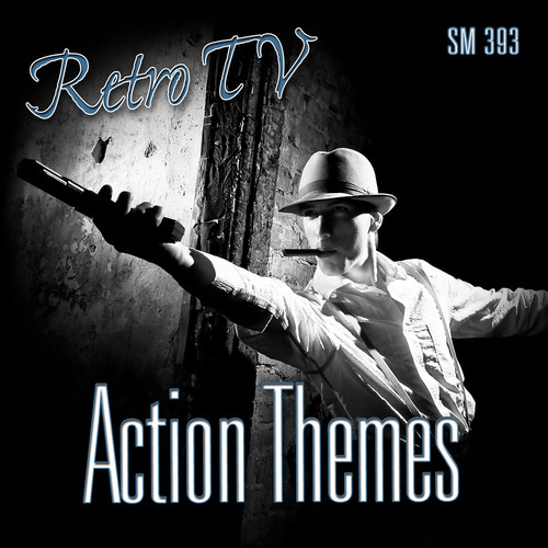 Sound Ideas Retro TV-Action Themes Royalty Free Music (Download)