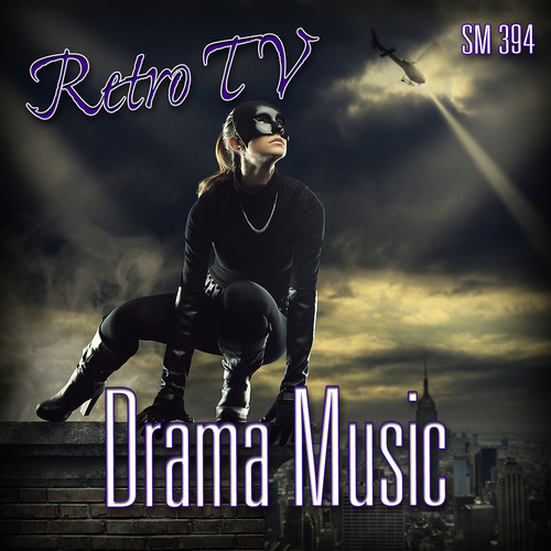 Sound Ideas Retro TV Drama Music - Royalty-Free Music (Download)