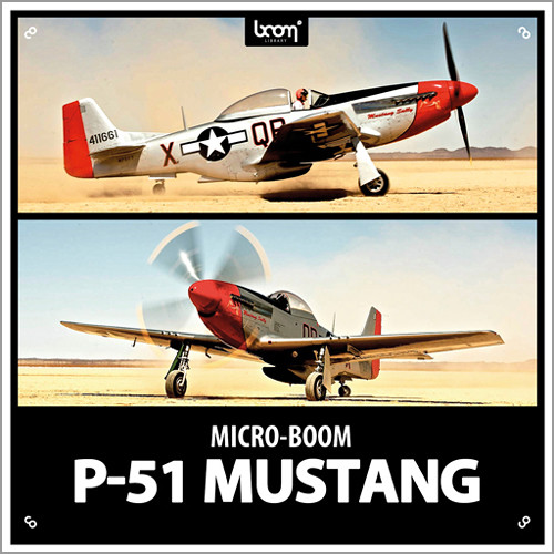Sound Ideas P-51 Mustang Sound Effects (Download)
