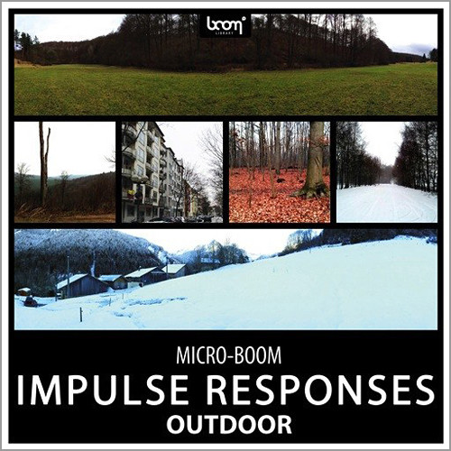 Sound Ideas Outdoor Impulse Responses Sound Effects (Download)