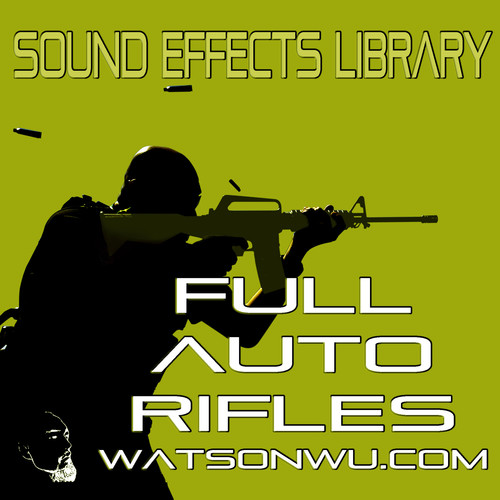 Sound Ideas Full Auto Rifles Sound Effects Library (24-Bit/48 kHz Download)