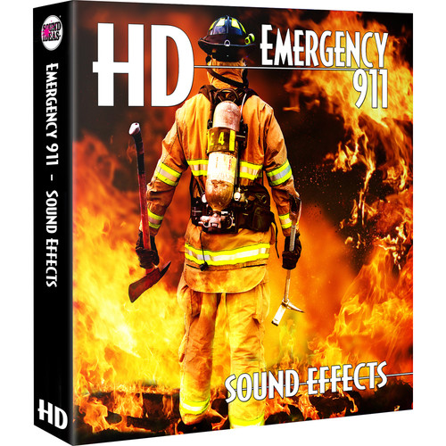 Sound Ideas Emergency 911 HD - Sound Effects Library (Electronic Download)