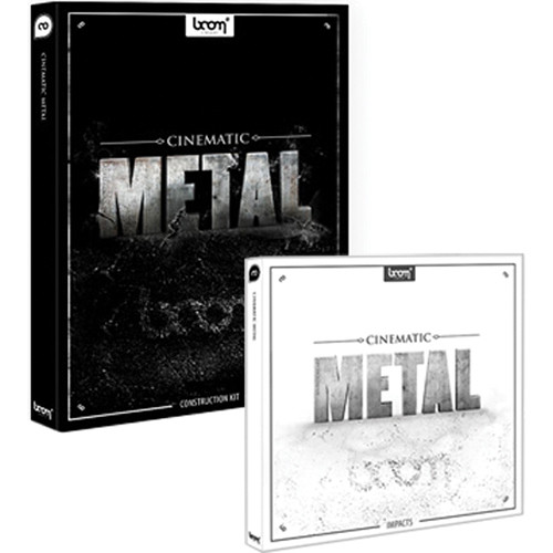 Sound Ideas Cinematic Metal Sound Effects Library Bundle (CD and DVD-ROM)