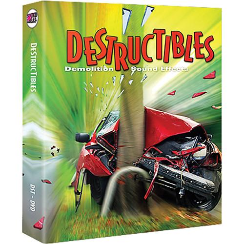 Sound Ideas Destructibles Sound Effects Library (Download)
