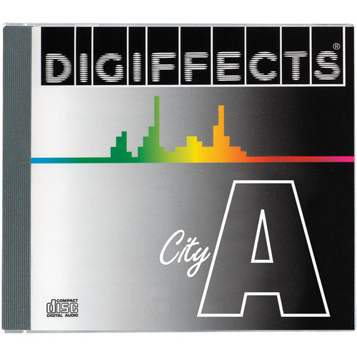 Sound Ideas Digiffects City Sound Effects - Series A (29 Audio CDs)