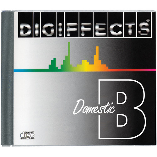 Sound Ideas Digiffects Domestic Sound Effects Library - Series B (Download)