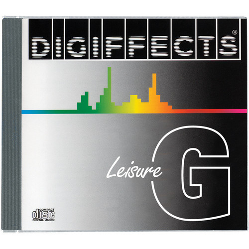 Sound Ideas CD ROM: Digiffects Series G Leisure Sound Effects