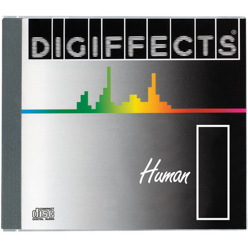 Sound Ideas Digiffects Human Sound Effects - I Series (12 Audio CDs)