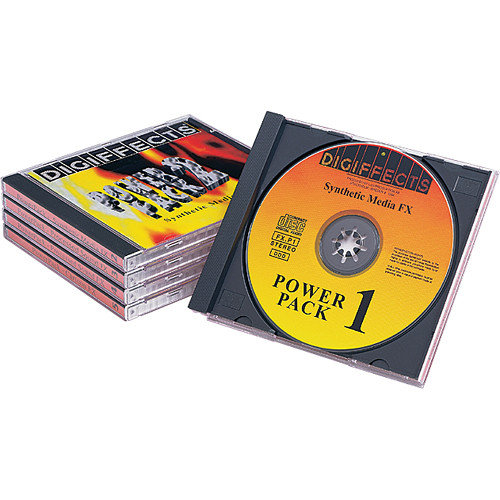 Sound Ideas CD-ROM: Digiffects Power-Pack Sound Effects Library