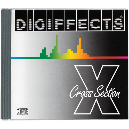 Sound Ideas CD-ROM: Digiffects Series X Cross Section Sound Effects