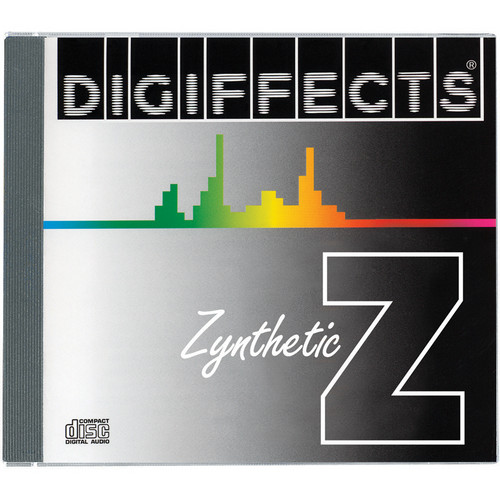 Sound Ideas CD-ROM: Digiffects Series Z Zynthetic Harmony Sound Effects