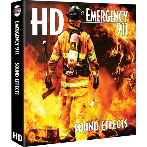 Sound Ideas HD Emergency 911 Sound Effects Hard Drive for Mac
