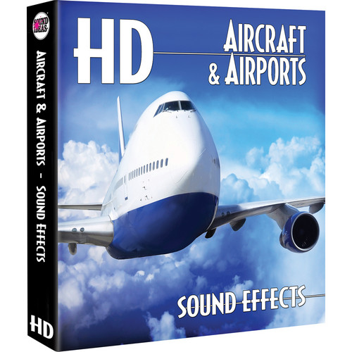 Sound Ideas Aircraft & Airports HD Sound Effects Library (Download)