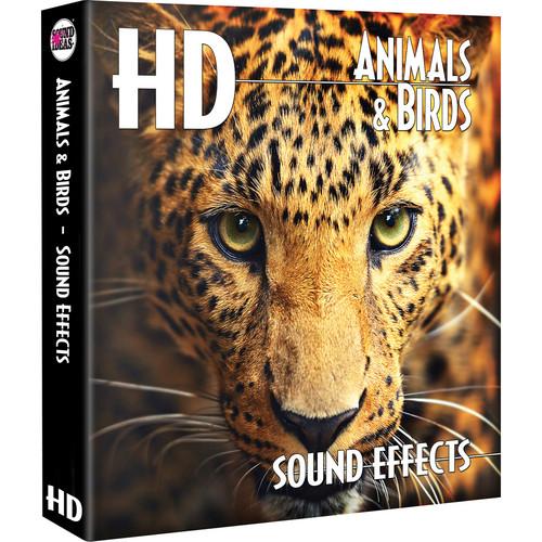 Sound Ideas Animals & Birds HD Sound Effects Hard Drive for Windows