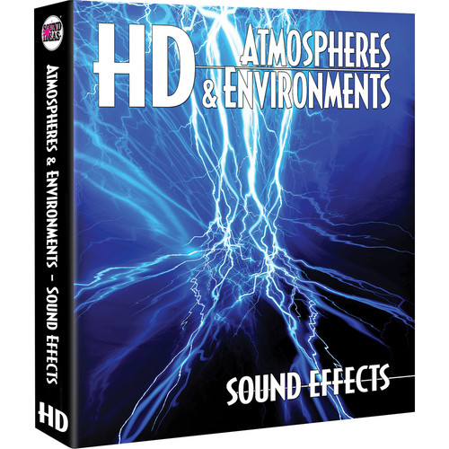 Sound Ideas Atmospheres & Environments HD Sound Effects Library (Download)
