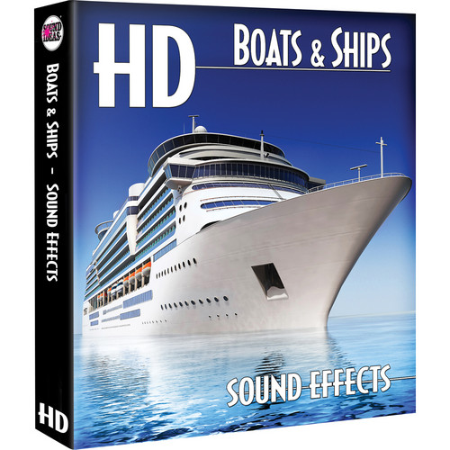 Sound Ideas Boats & Ships HD Sound Effects on Hard Drive for Mac