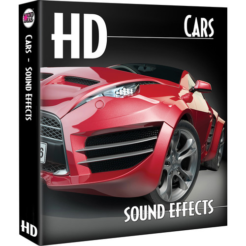 Sound Ideas Cars HD Sound Effects Library (Download)