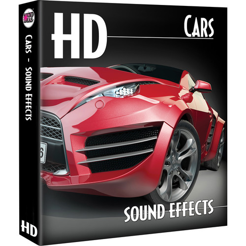Sound Ideas Cars HD Sound Effects on Hard Drive for Mac