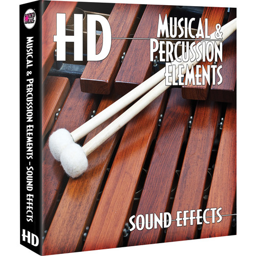 Sound Ideas Musical & Percussion Elements HD Sound Effects Hard Drive