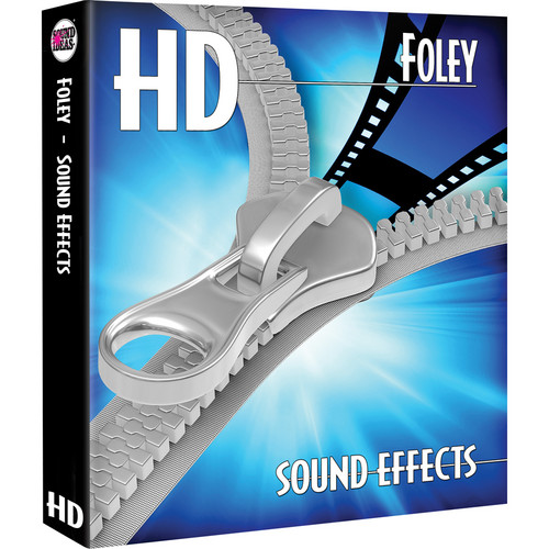 Sound Ideas Foley HD Sound Effects Hard Drive for Mac