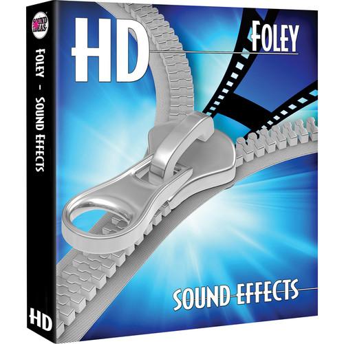 Sound Ideas Foley HD Sound Effects Hard Drive for Windows
