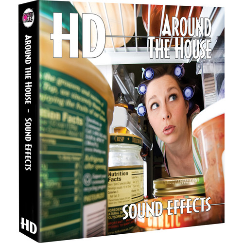 Sound Ideas Around the House HD Sound Effects Hard Drive for Windows