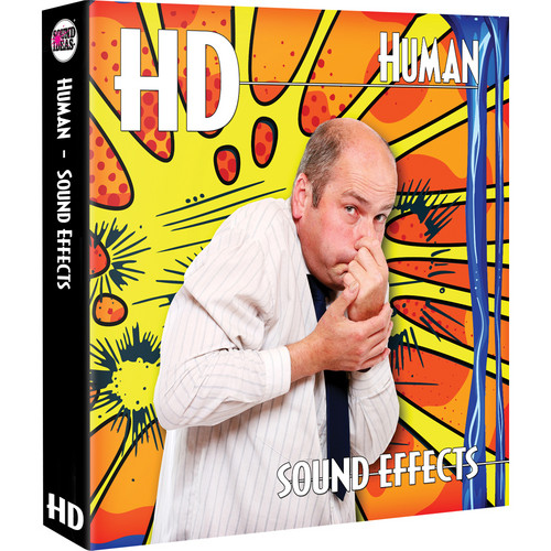 Sound Ideas HD Human Sound Effects Hard Drive for Mac