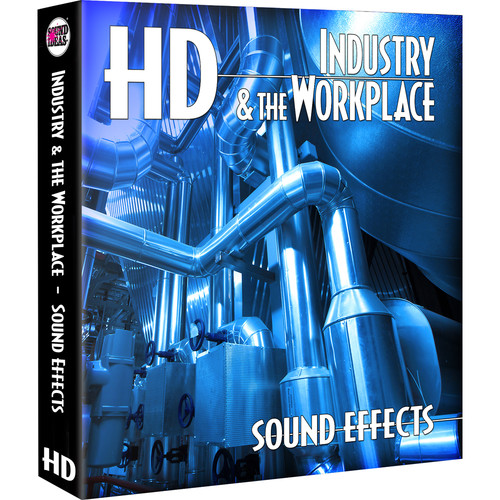 Sound Ideas Industry & The Workplace HD - Sound Effects Library (Electronic Download)