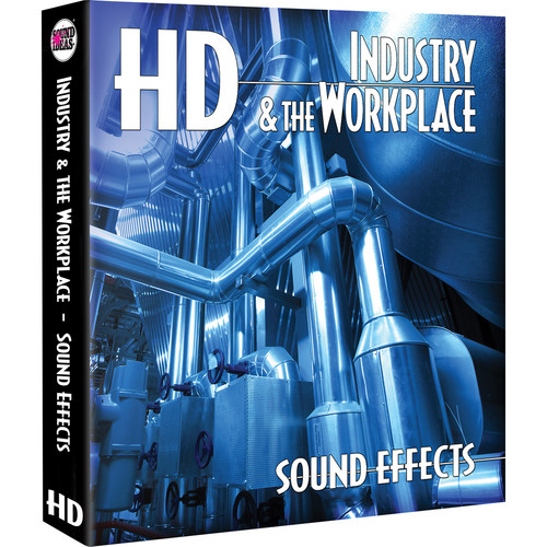 Sound Ideas Industry & The Workplace HD Sound Effects Hard Drive