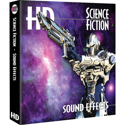 Sound Ideas Science Fiction HD Sound Effects Hard Drive for Windows