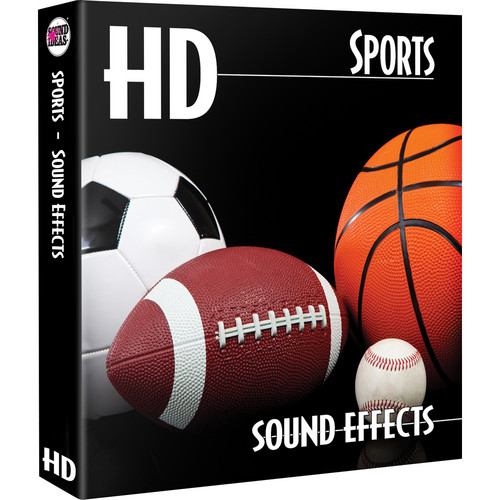 Sound Ideas Sports HD Sound Effects Hard Drive for Windows