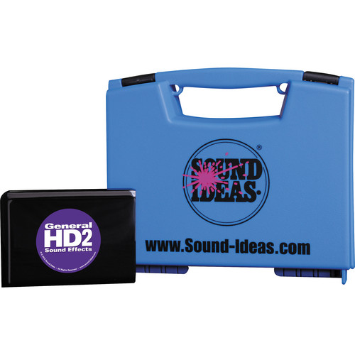Sound Ideas General HD 2 Sound Effects Collection Hard Drive