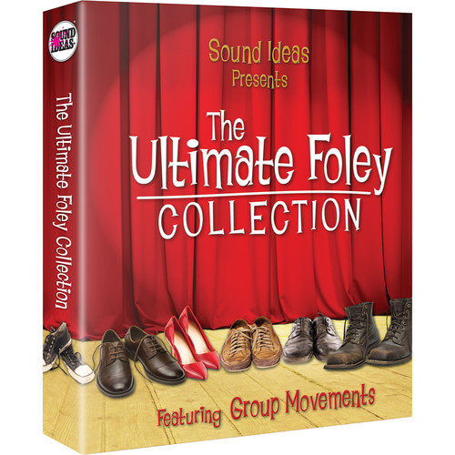 Sound Ideas Ultimate Foley Collection - Sound Effects Library (Electronic Download)