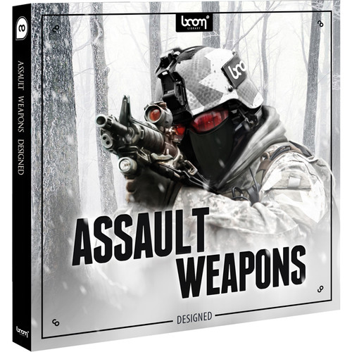 Sound Ideas Assault Weapons - Sound Effects Library (Electronic Download)