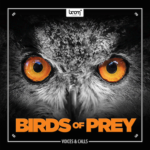 Sound Ideas Birds of Prey - Sound Effects Library (Electronic Download)
