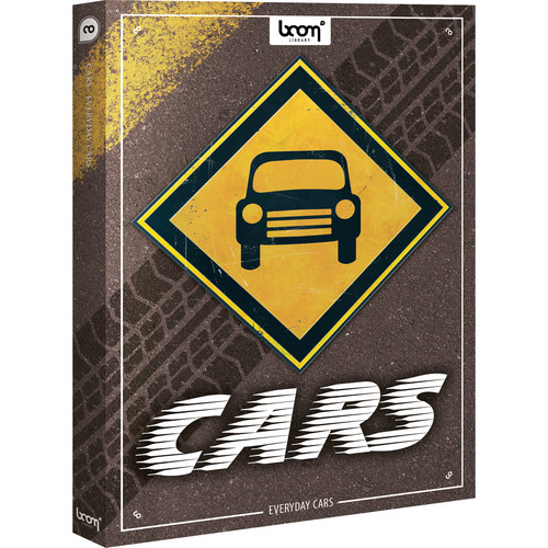 Sound Ideas Everyday Cars Sound Effects Library
