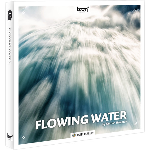 Sound Ideas Flowing Water- Sound Effects Library (Electronic Download)
